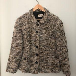 Vintage Feraud Boucle Wool/Cashgora/Silk Jacket